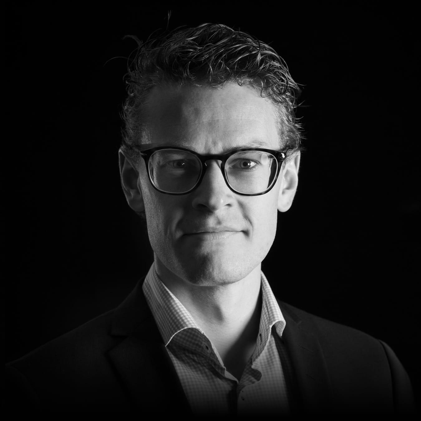 Portret Alwin van Schendel